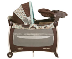 Graco Silhouette Pack 'n Play Playard, Carlisle Product Shot