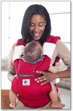 Ergobaby Sport Collection Baby Carrier (Red) Product Shot
