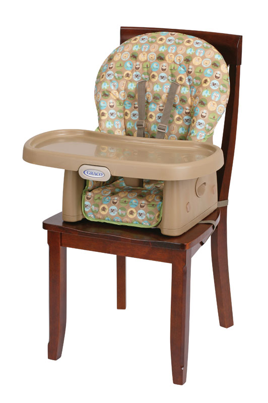 Amazon.com : Graco SimpleSwitch Highchair and Booster, Zooland : Chair Booster Seats : Baby