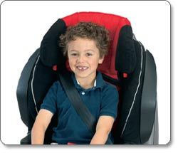 BRITAX FRONTIER 85 SICT Combination Harness-2-Booster Seat, Cardinal Lifestyle Shot