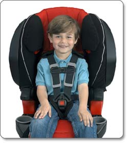 BRITAX FRONTIER 85 SICT Combination Harness-2-Booster Seat, Onyx Lifestyle Shot