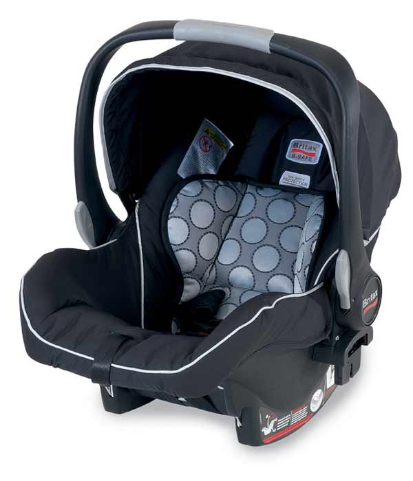 how to put britax car seat cover back on