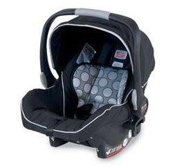 BRITAX B-SAFE Infant Car Seat, Black Product Shot