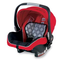 BRITAX B-SAFE Infant Car Seat, Red Product Shot