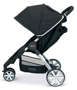 BRITAX B-AGILE Stroller, Black Product Shot