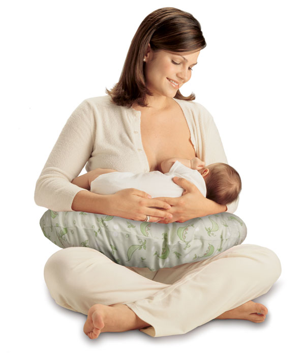 Amazon.com : Boppy Pillow with Slipcover, Sweet Pea (Discontinued by
