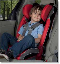 RadianRXT Convertible plus Booster Car Seat Lifestyle Shot