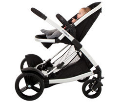 Promenade Buggy Single Stroller, Black Product Shot