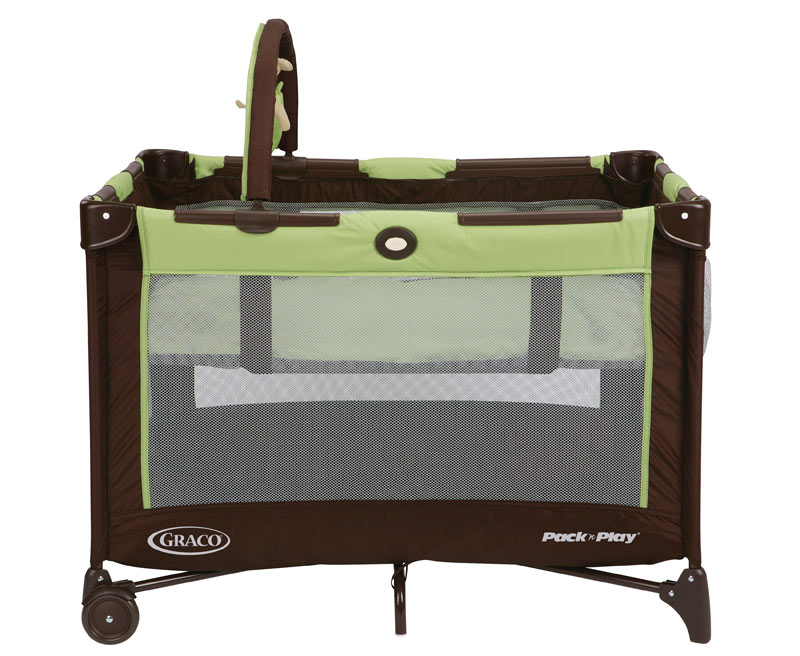 Graco Go Green Travel Bassinet Playard Pack N and Play Pen ...