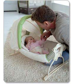 Graco Pack 'N Play Playard with Cuddle Cove Rocking Seat, Winslet Product Shot