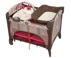 Graco Pack 'n Play Playard with Newborn Napper DLX, Jacqueline Product Shot