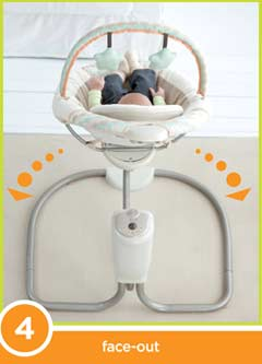 Graco Sweet Snuggle Swing Position Shot