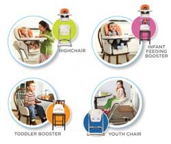 Blossom 4-in-1 Seating System, Vance Product Shot