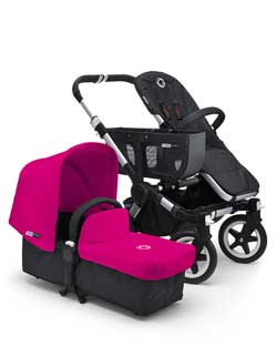 Bugaboo Donkey Tailored Fabric Set, Pink Product Shot
