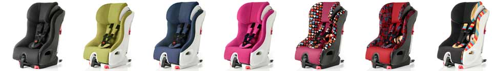Clek Foonf Booster Car Seat colors