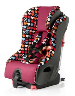 Clek Foonf Convertible Car Seat, Paul Frank Heart Shades Product Shot