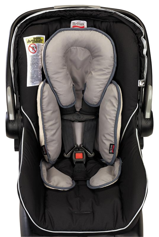 britax head and body support pillow iron gray baby. Black Bedroom Furniture Sets. Home Design Ideas