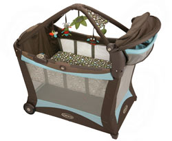 Graco Modern Pack 'n Play Playard with Play Mat, Shout Product Shot