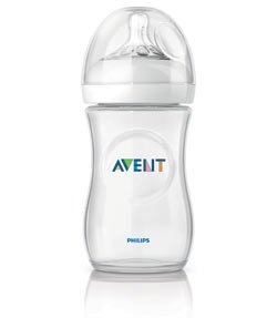 Philips AVENT SCF693/17 Natural Bottle 9 oz, BPA Free, 1-Pack Product Shot