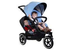 phil&teds navigator Buggy, Black Product Shot