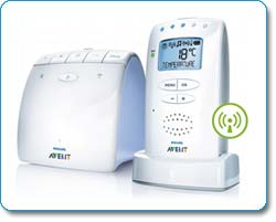 Philips Avent SCD525 DECT Baby Monitor