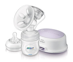 Philips AVENT Comfort Single Electric Breast Pump (SCF332/01) Product Shot