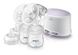 Philips AVENT Comfort Double Electric Breast Pump (SCF334/02) Product Shot