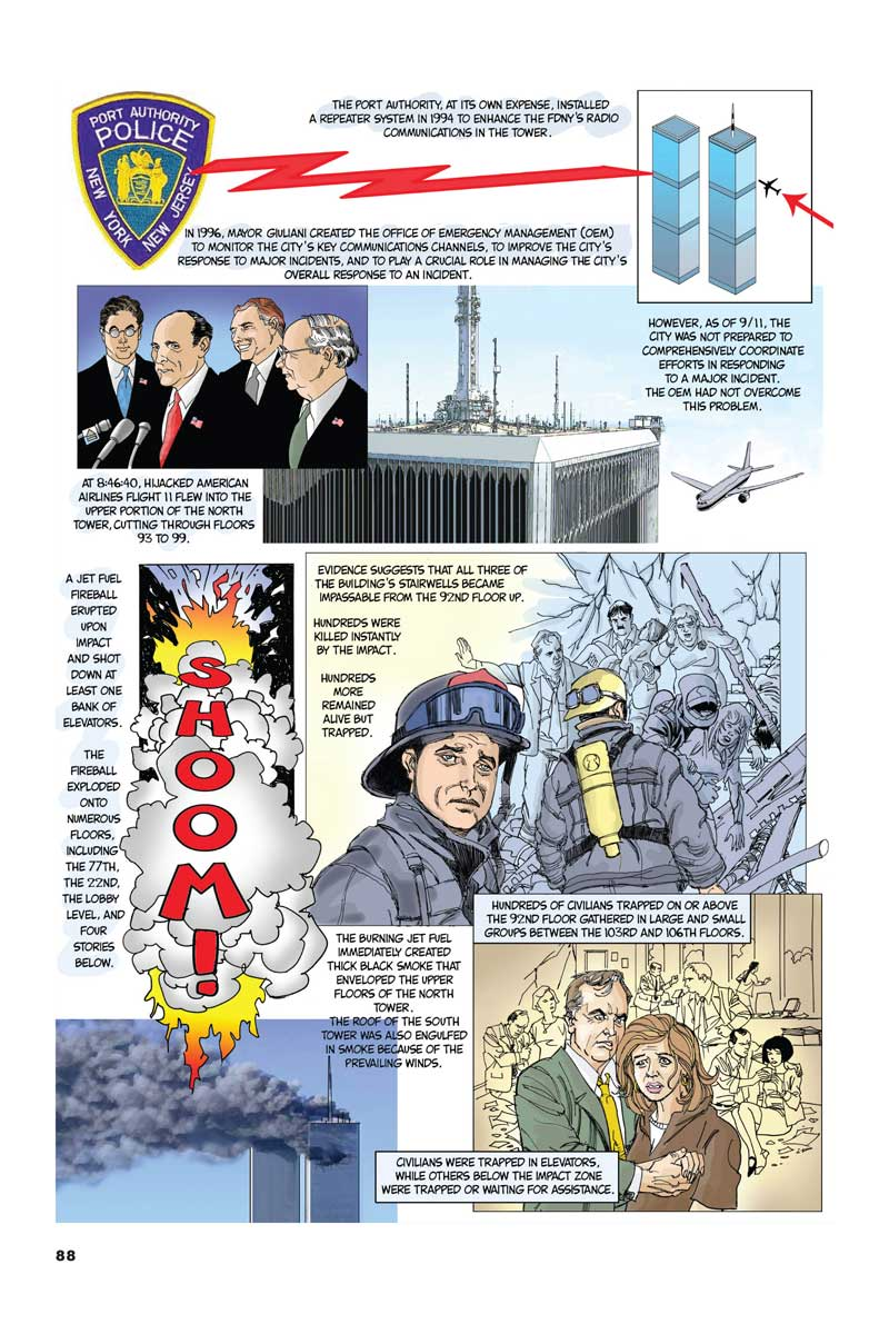 The 9/11 Report: A Graphic Adaptation Paperback – August 22, 2006