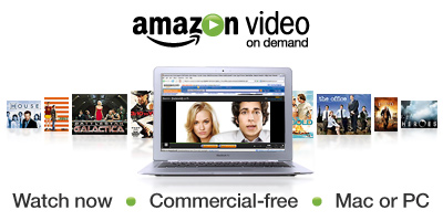 Amazon Video On Demand - Watch Now - Commercial-free - Mac or PC