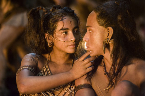 Stills from Mel Gibson's Apocalypto (click for larger image)