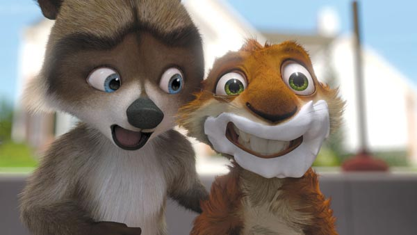 Stills from Over the Hedge (click for larger image)