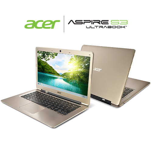 Acer Aspire S3-391-6899 Ultrabook with 13.3-Inch HD Display