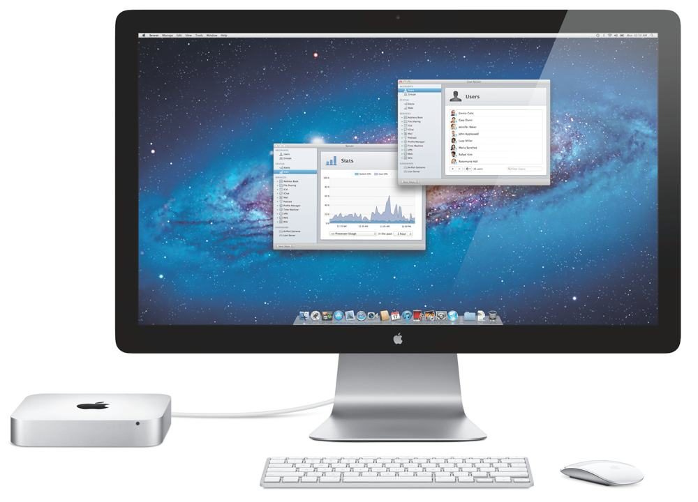 Apple Mac Mini MC936LL A With Lion Server