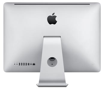 Rear of the 21.5-inch Apple iMac