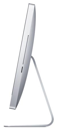 Side of the 27-inch Apple iMac