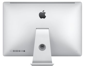 Rear of 27-inch iMac