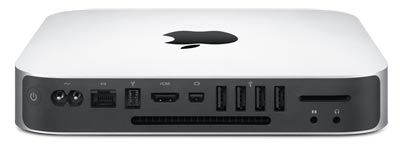 Apple Mac mini ports
