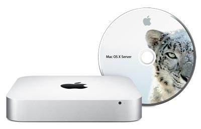 Apple Mac mini with Snow Leopard Server