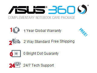 asus360 1yr ASUS UL30VT X1K: ASUS UL30Vt X1 Thin and Light 13.3 Inch Black Laptop (11 Hours of Battery Life)