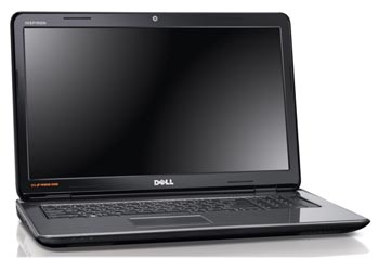Dell Inspiron 17R in black