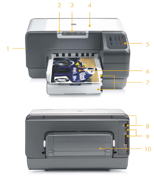 Discount hp business inkjet 1200d color printer find for Cheapest per page color printer