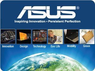 ASUS Won 3056 distinguished awards in 2008