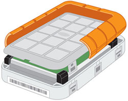 LaCie Rugged All-Terrain 301290 250 GB USB 2.0 Portable Hard Disk