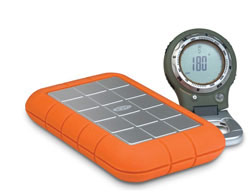 LaCie 301371 500 GB Rugged Hard Disk with FireWire 800, FireWire 400, and USB 2.0