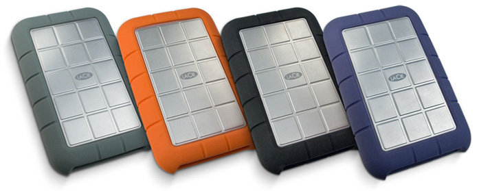 LaCie 301832 320 GB Rugged Hard Disk with FireWire 800, FireWire 400, and USB 2.0