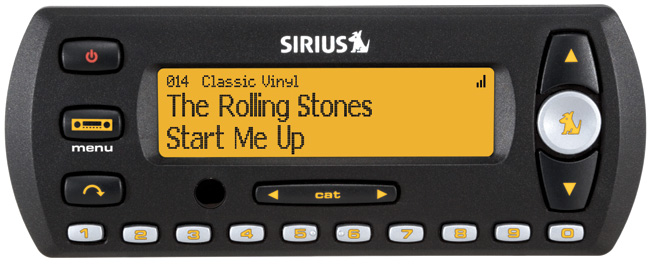 how to connect sirius radio to my car