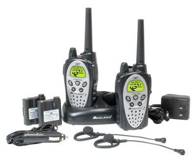 Two-Way Radios With 42 Channels, Direct Call, NOAA Weather Alert & Vibrate