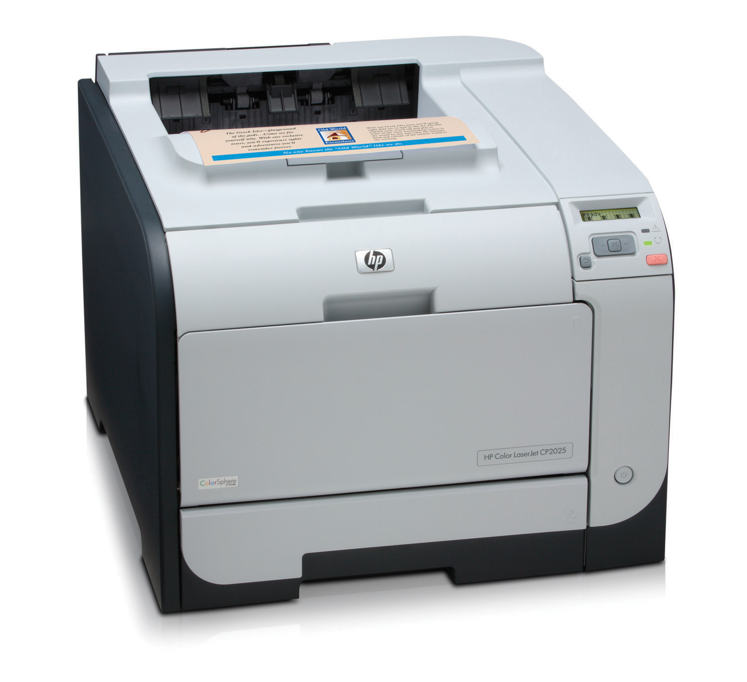 Want automatic two-sided printing? Buy the HP Color LaserJet CP2025dn ...: http://www.amazon.com/HP-Laserjet-CP1518NI-Printer-Government/dp/B00168RF6C