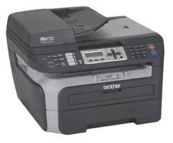 Brother MFC-7840W Laser Multifunction Center with Wireless and Ethernet Network Interfaces