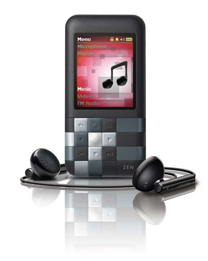 Amazon.com: Creative Zen Mozaic Series MP3 Player: MP3 Players ...